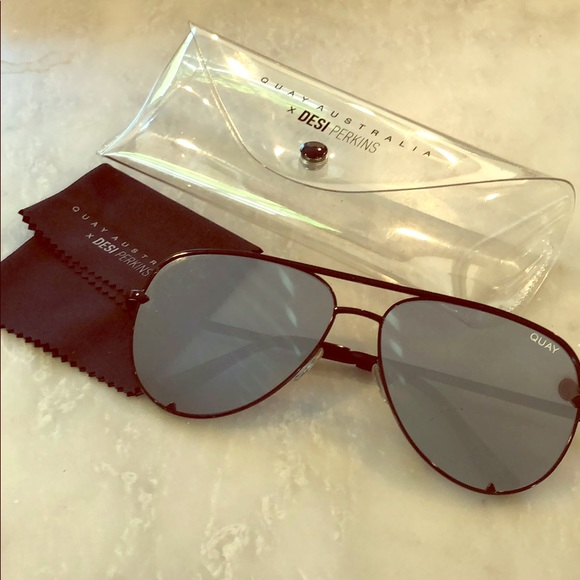 Quay Australia Accessories - Quay high key sunglasses